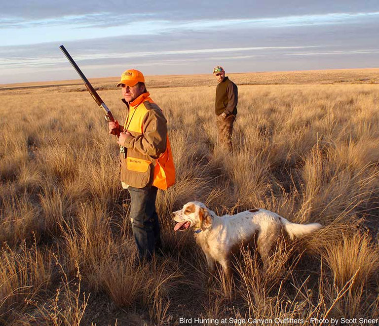 Hunting in Maupin, Oregon